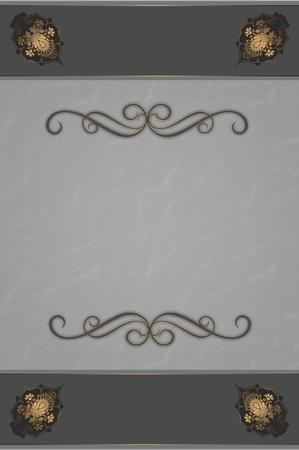 Decorative background with elegant patterns Stock Photo - 12933016