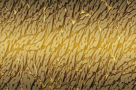 Golden abstract background Stock Photo - 13001989