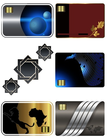 Business card templates Stock Photo - 13528581