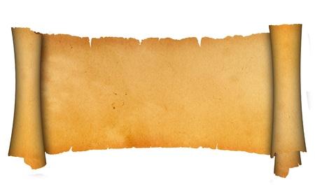 Antique scroll  Stok Fotoğraf