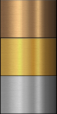 Gold,silver and bronze backgrounds for the design  photo