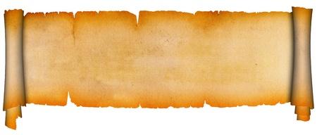 Antique scroll  Stock Photo