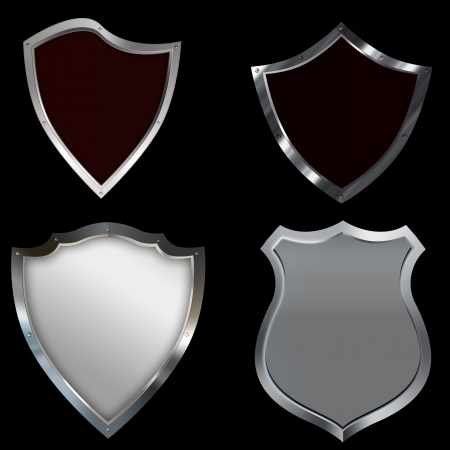 Shield collection  Stock Photo