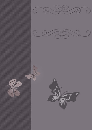 butterflies for decorations: Sfondo decorativo Archivio Fotografico