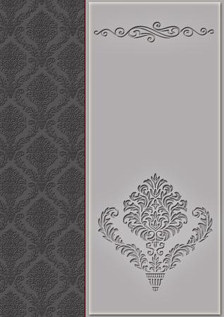 coverbook: Sfondo decorativo con motivi eleganti