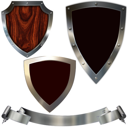 Shields for design  photo