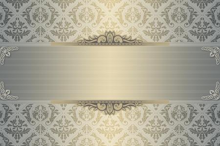 Elegant floral background for the design of wedding invitation. photo
