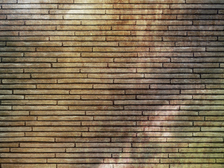 Old grunge bricks wall backround. Natural material for the design. photo