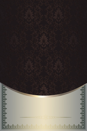 Decorative background with elegant patterns and ornaments for the design. photo