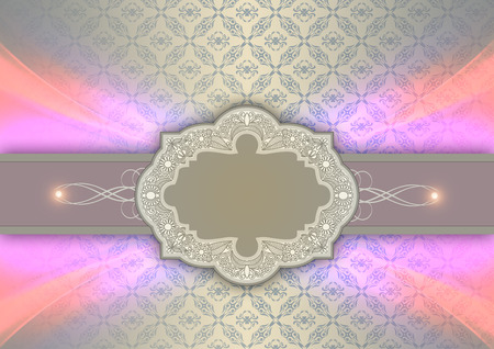backgrouns: Vintage backgrouns with decorative patterns and ornament for the design of invitation card.
