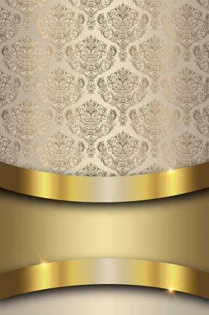 oldfashioned: Decorative background with old-fashioned ornament.