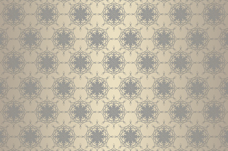 oldfashioned: Old-fashioned wallpaper with decorative european patterns.
