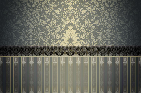 coverbook: Vintage background with elegant pattern and ornament for the design.