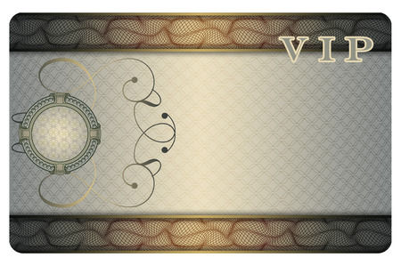 persona: Abstract background with decorative frame for the design of your business card.