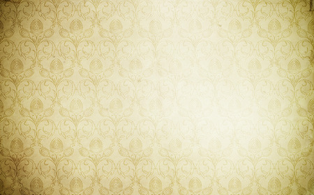 vintage background paper: Old paper background with floral vintage patterns.