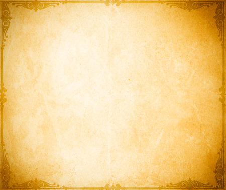 vintage background paper: Old grunge paper background with vintage decorative border.