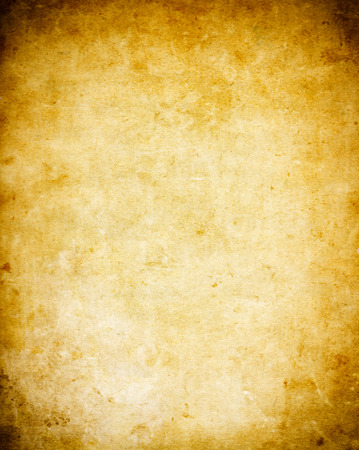 Texture of old dirty paper. Grunge paper background for the design. Standard-Bild