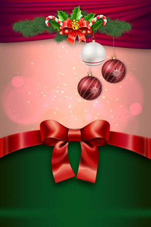 christmassy: Decorative christmassy background for the design. Cristmas card design.