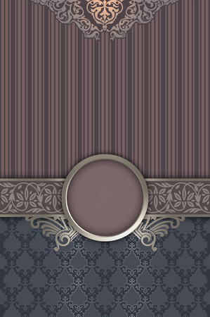 oldfashioned: Vintage background with decorative border,old-fashioned patterns and frame.