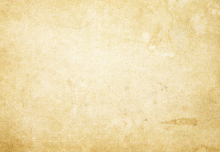 Aging paper texture. Natural old paper background for the design. Stock Photo