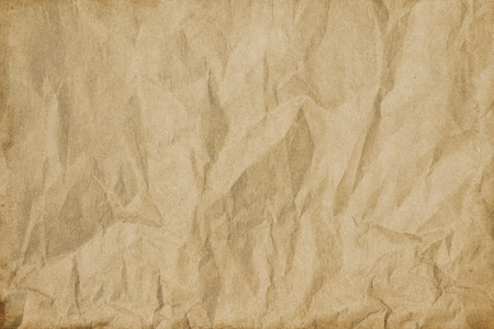 aging: Aging crumpled paper background for the design. Stock Photo
