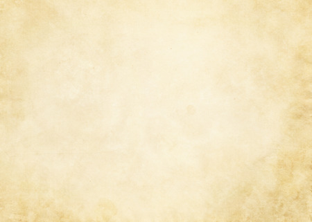 yellowed: Old dirty and yellowed paper background for the design. Stock Photo