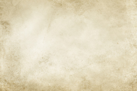 yellowed: Aged stained paper background or texture for the design. Vintage paper. Stock Photo