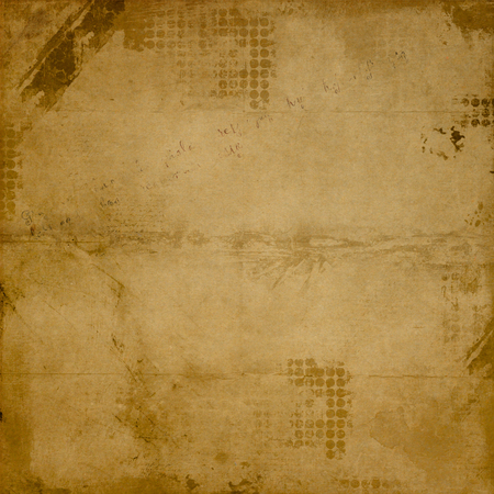 Crumpled grunge paper texture for background. 免版税图像