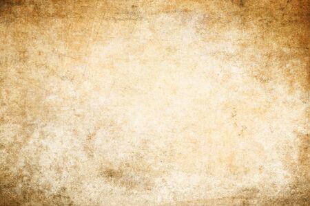 Vecchia trama di carta sporca e ingiallita