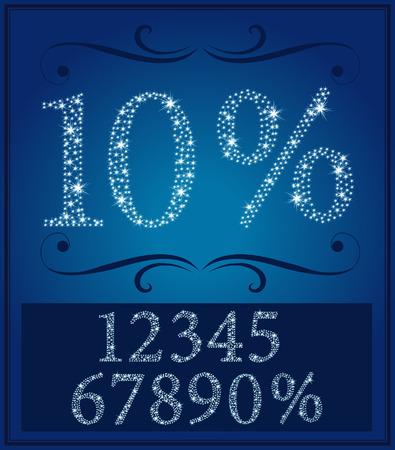 ce: Cette image est une illustration num�ro & le pourcentage