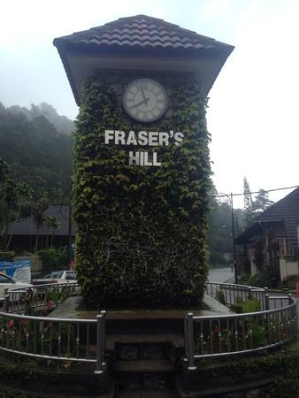 Frasers hill landmark Imagens