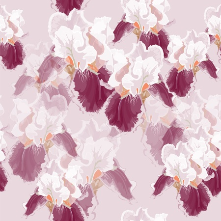Seamless texture with elegant colors. The texture of the iris.