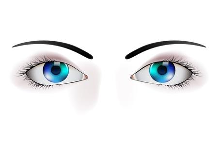 beautiful eye illustration