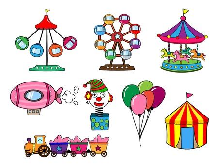 Amusement park Stock Vector - 17448595