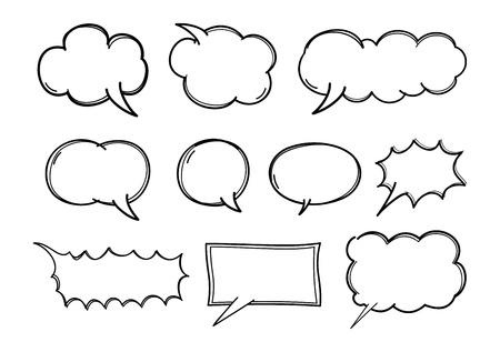 cartoon chat  Ilustrace