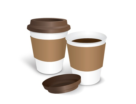 coffee cap Stock Vector - 17448590