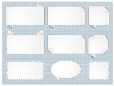paper note Stock Vector - 17448605