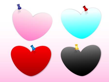 heart note love
