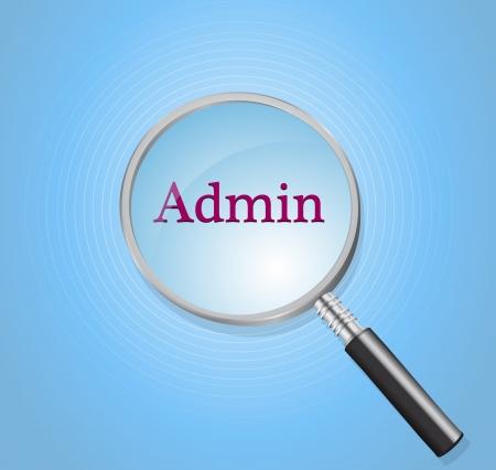 admin Stock Vector - 17712502