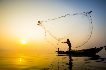 fisherman life Banque d'images
