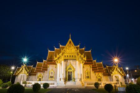 nicety: Wat Benchamabophit Stock Photo