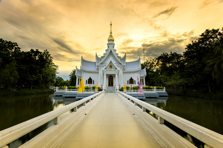 nicety: Thai Temple Stock Photo