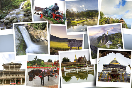 tourist attraction: Gallery tourist attraction Lampang Province, thailand