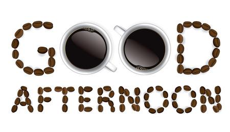 良い午後、コーヒー カップ