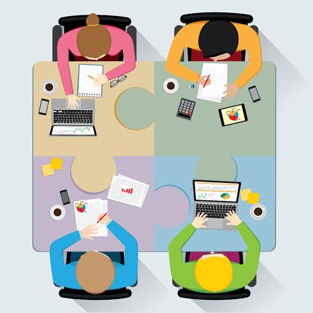 teamwork: Teamwork illustration