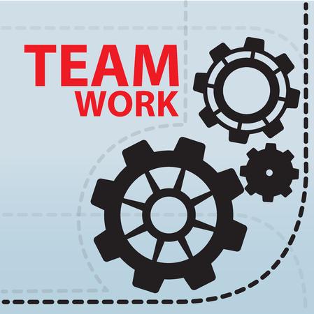 teamwork: Teamwork concept Illustration