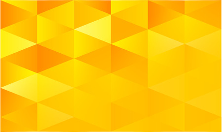 Yellow geometric abstract background vector Illustration