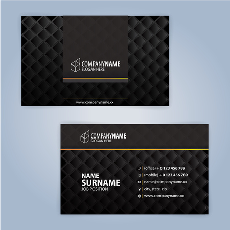Business card design templates, Luxury graphic design
