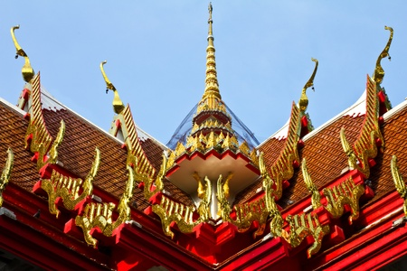 Chapel inTemple of Thailand Stock Photo - 9355135