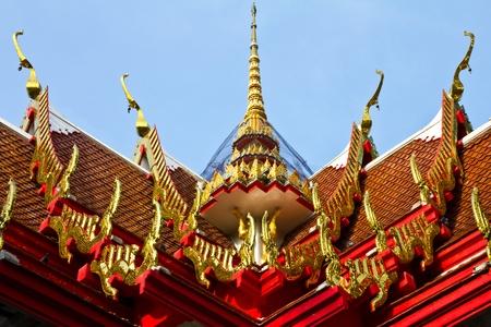 Chapel inTemple of Thailand Stock Photo - 9355135